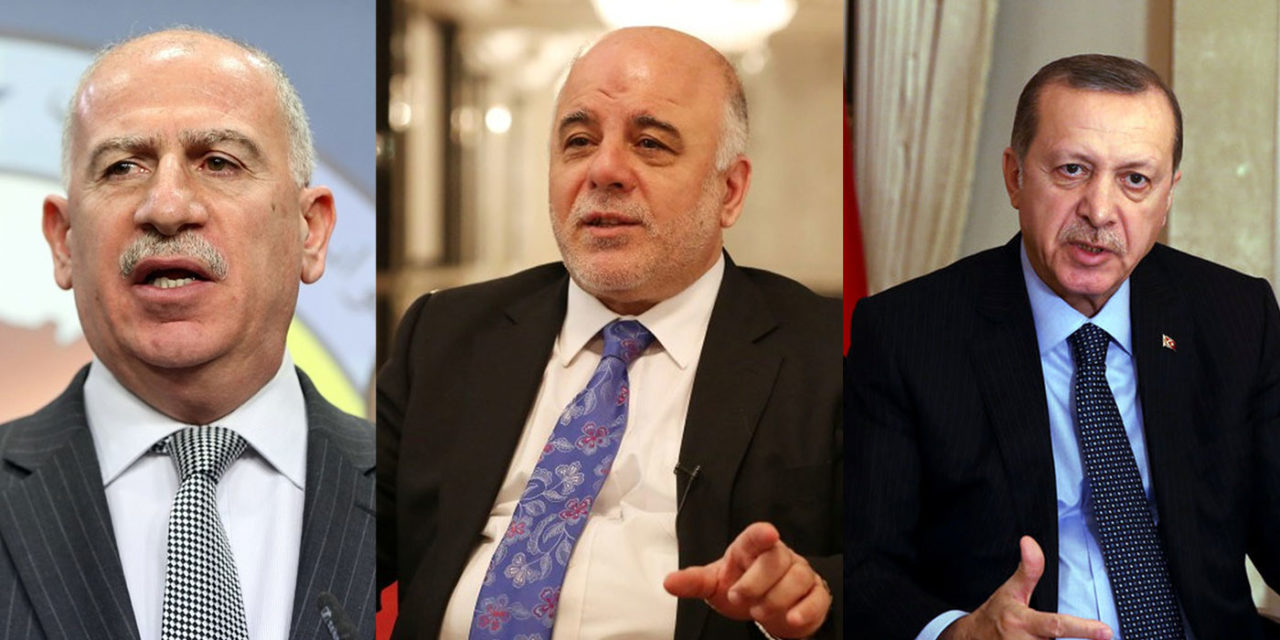 """Nujaifi, Erdogan, and Abadi All Walk Into a Bar…"""