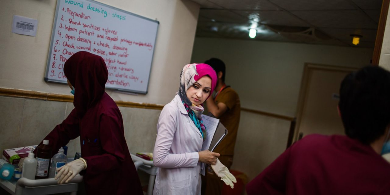 The Defiant Role of a Working Woman in Iraqi Society - 1001